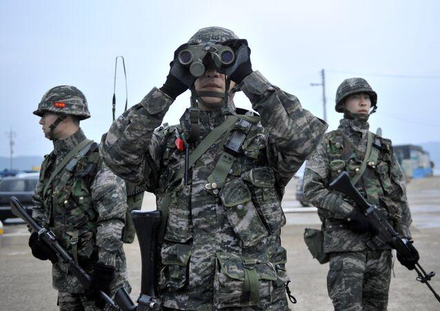 Soldados sul-coreanos (arquivo)