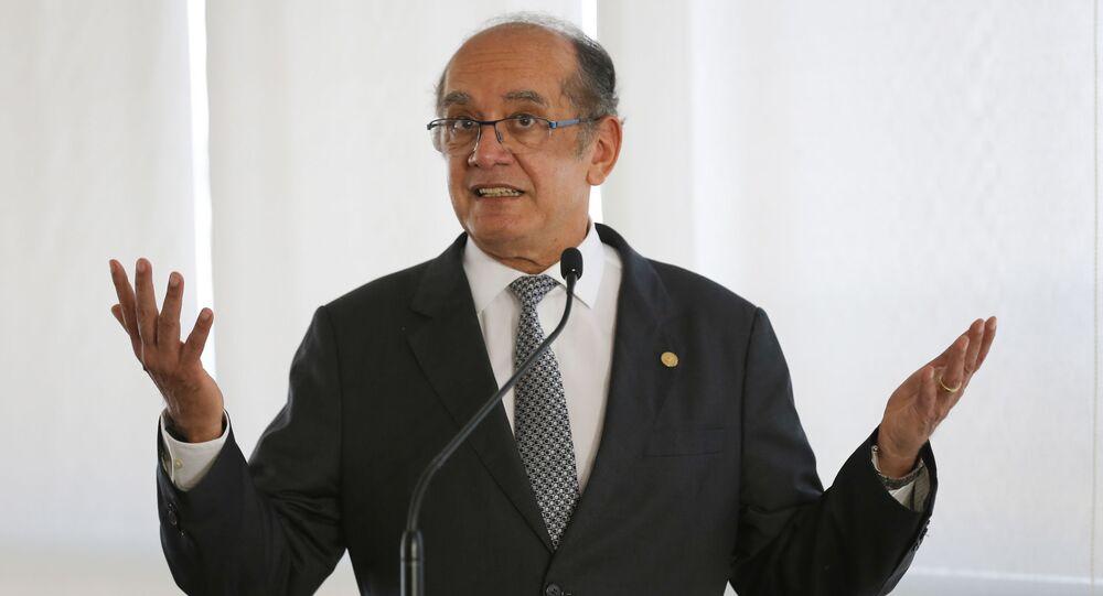 Ministro Gilmar Mendes do Supremo Tribunal Federal