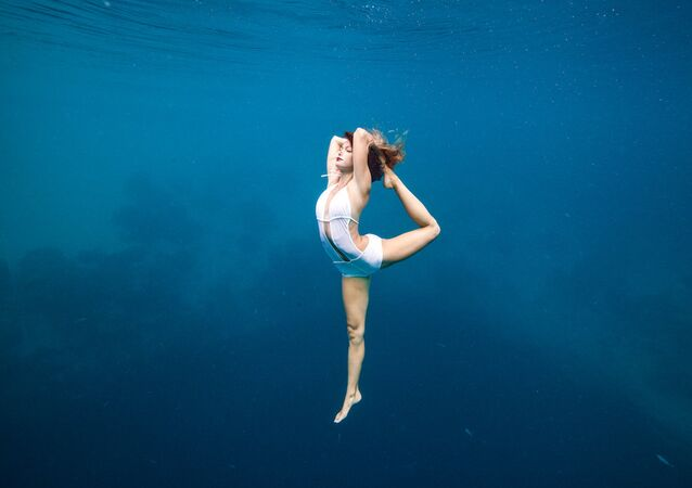 A beleza submersa pelas lentes de Daan Verhoeven