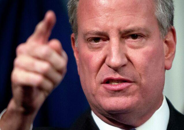 Prefeito de Nova York Bill de Blasio