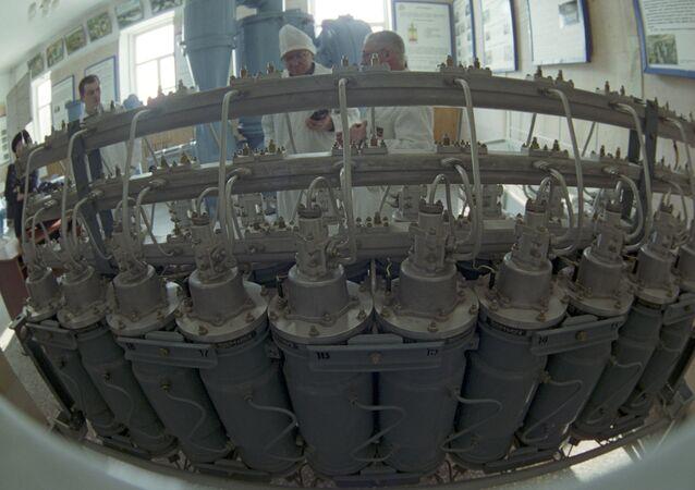 Сentrífugas de gás para enriquecimento de urânio