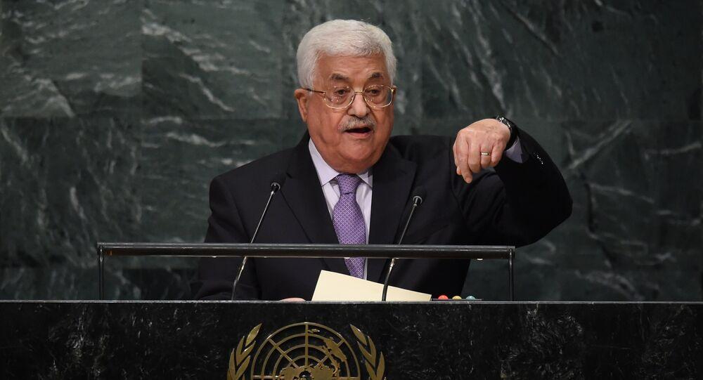 Mahmoud Abbas, presidente da Autoridade Nacional Palestina