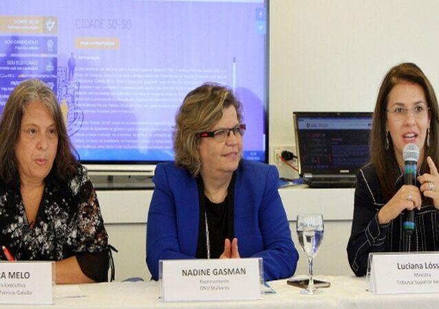 Lançamento da Plataforma ONU Mulheres com TSE