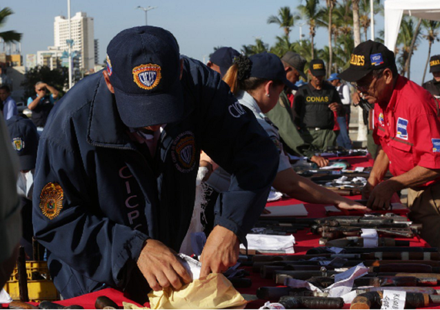 Campanha de desarmamento na Venezuela