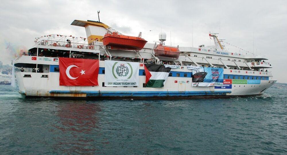 Navio turco Mavi Marmara (foto de arquivo)