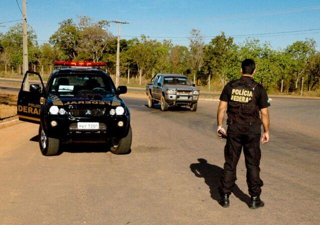 Polícia Federal em ação