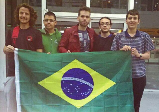 Equipe brasileira na 31.ª Olimpíada Ibero-Americana de Matemática