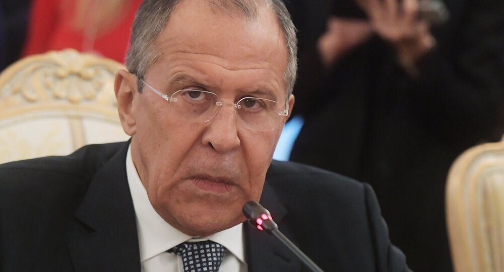Chanceler russo, Sergei Lavrov