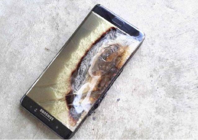 Samsung Galaxy Note 7 explode