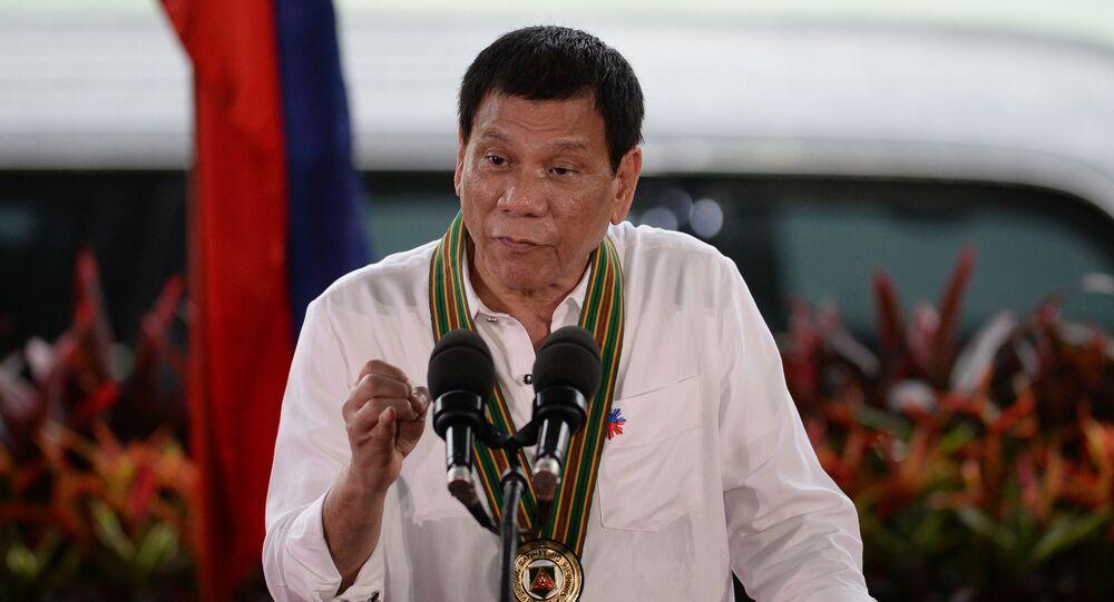 Presidente filipino, Rodrigo Duterte