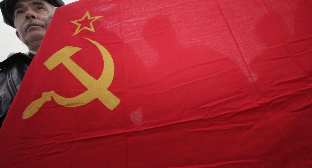 Bandeira soviética