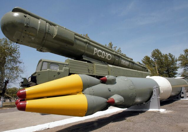 Sistema de mísseis RSD-10 Pioner