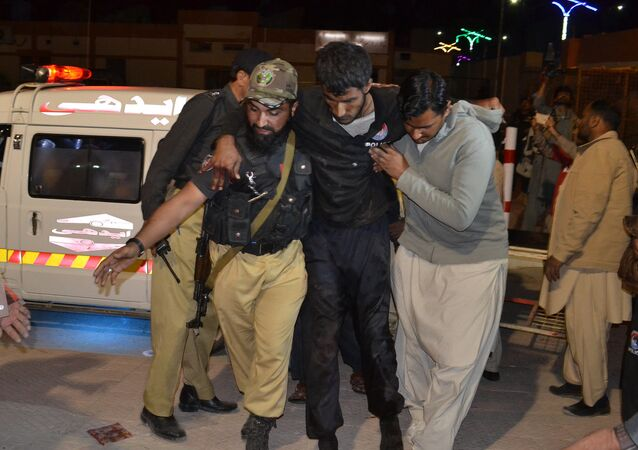 Ataque a academia de polícia em Quetta, Paquistão