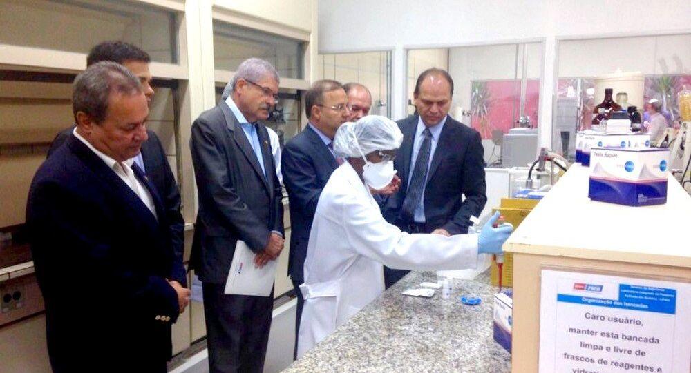 Apresentação do teste rápido para diagnóstico do Zika Vírus