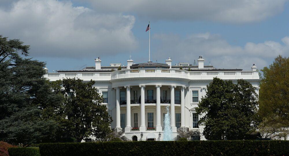 Casa Branca, residência oficial do presidente dos Estados Unidos, Washington D.C.