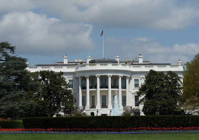 A residência oficial do presidente norte-americano, Casa Branca, Washington