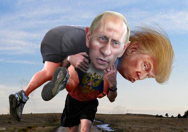 Democratas acusam Rússia de ajudar Trump