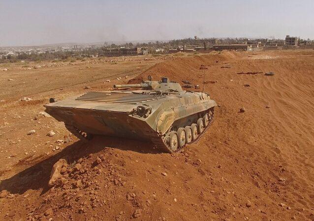 O Sul de Aleppo