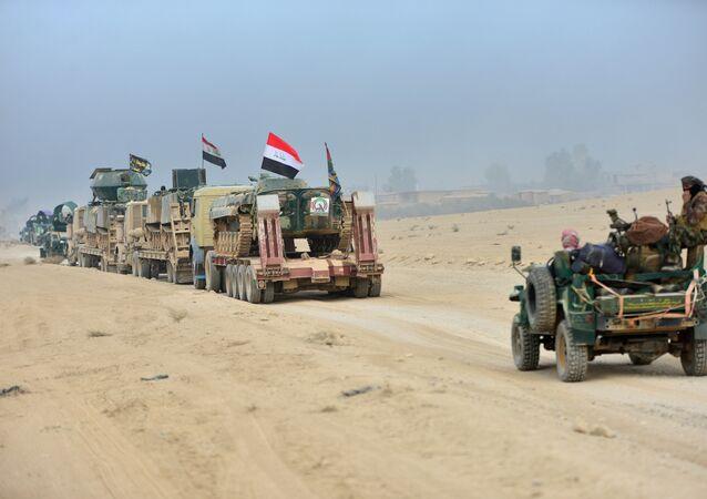 As forças iraquianas fazem o primeiro avanço dentro da cidade de Mossul na terceira semana de ofensiva