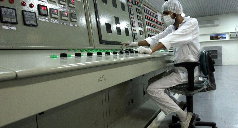 Técnico iraniano em instalação de enriquecimento de urânio (arquivo)