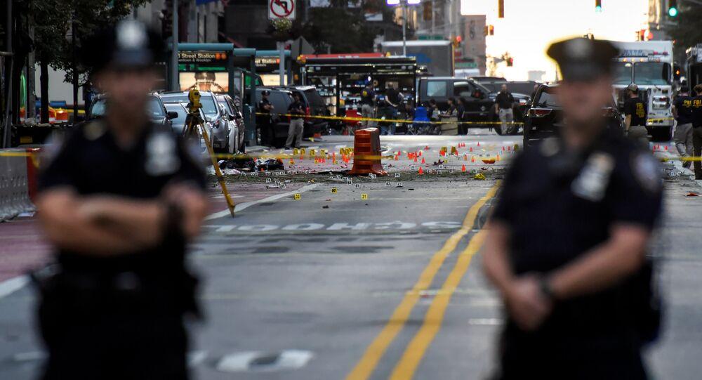 Agentes do Departamento de Polícia de Nova York