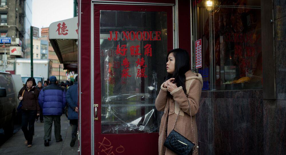 Bairro chinês em Nova York