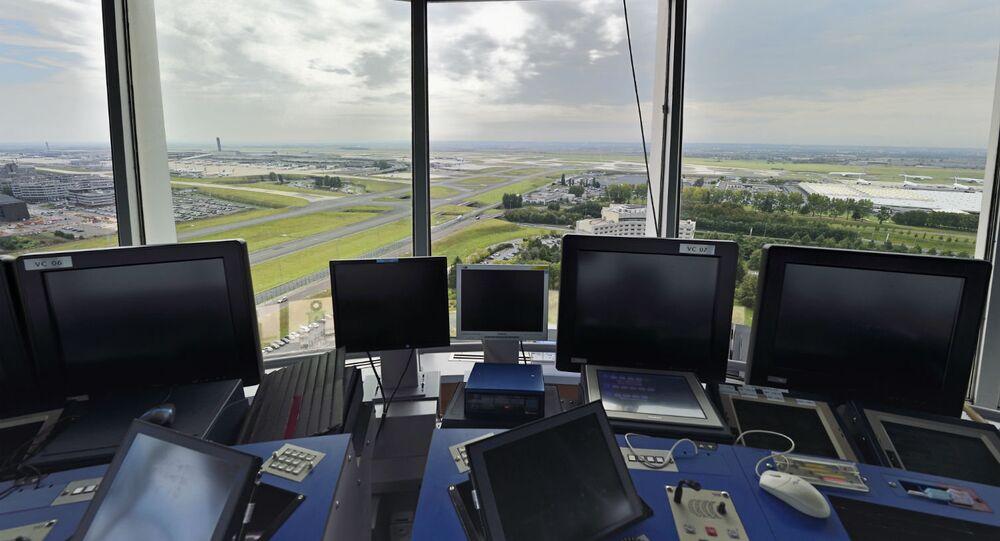 Aeroporto Charles de Gaulle, em Paris.