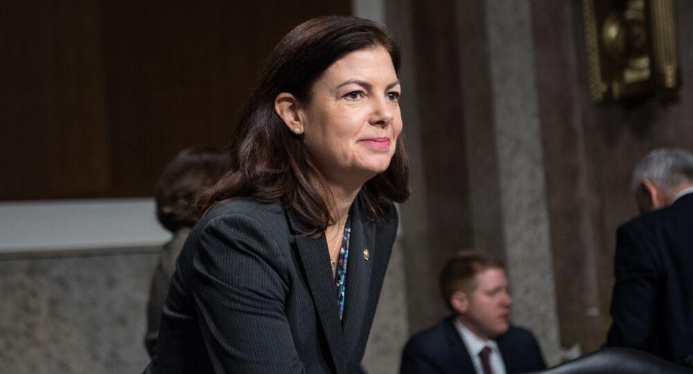 Senadora republicana por Nova Hampshire, Kelly Ayotte