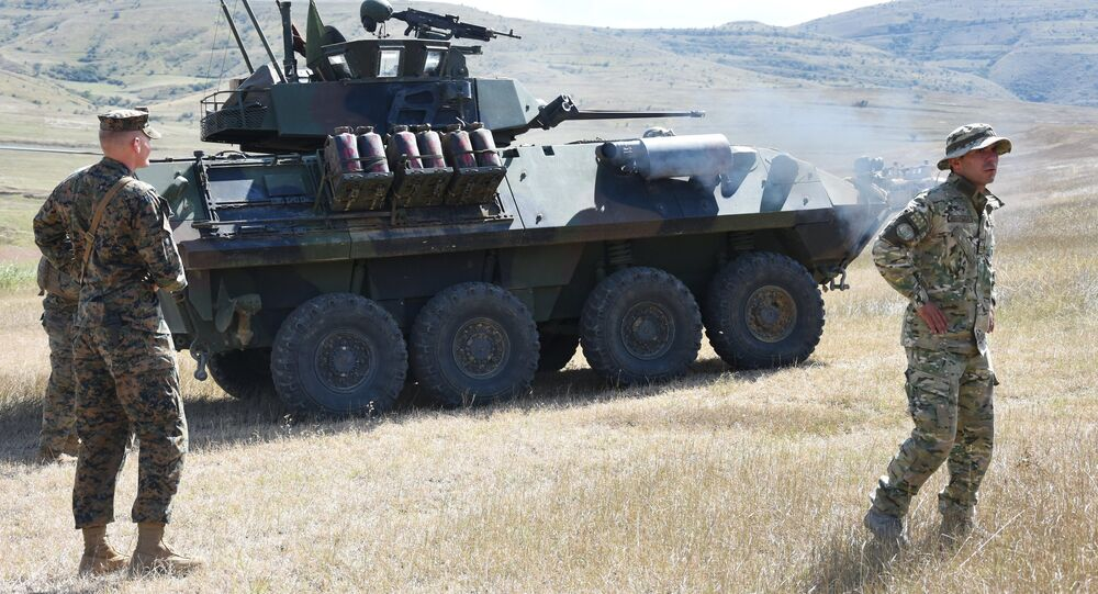 Exercícios militares OTAN-Geórgia