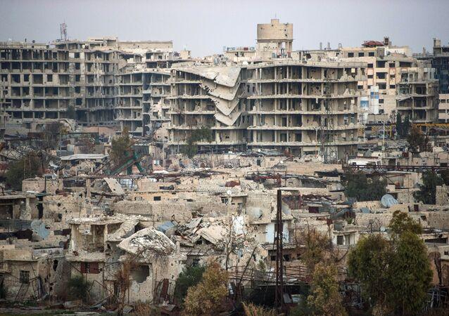 Situação em Damasco, Síria