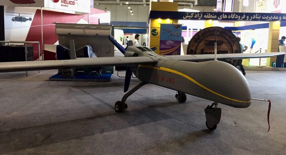 Drone de reconhecimento iraniano Fatrus