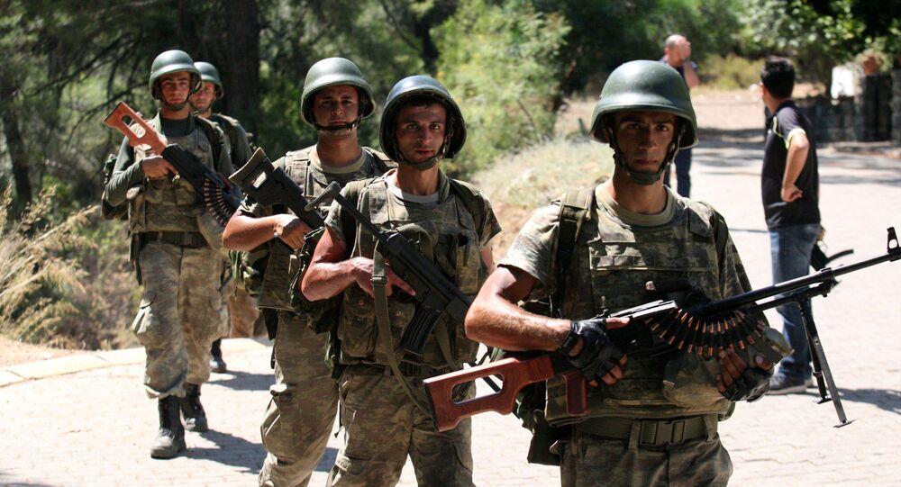 Soldados turcos (imagem referencial)