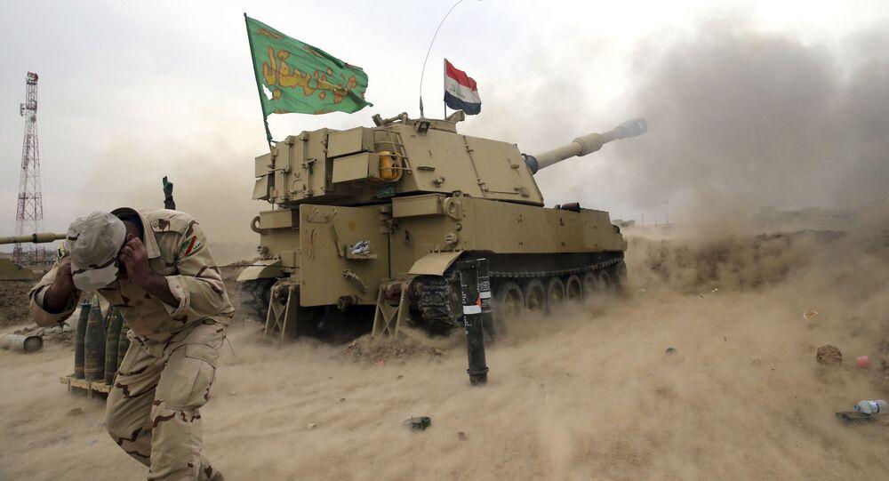Forças governamentais do Iraque em Mossul