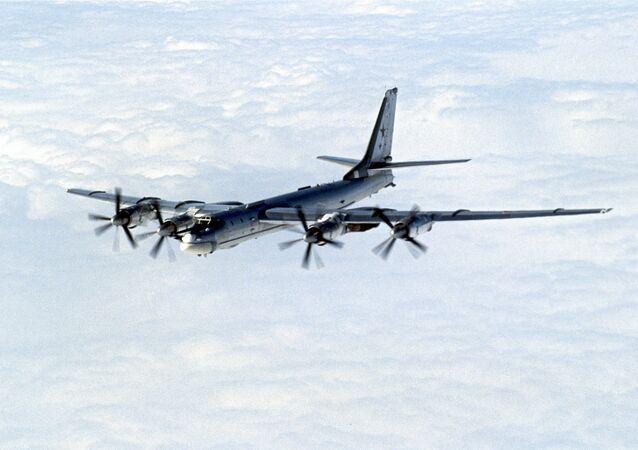 Bombardeiro estratégico Tu-95
