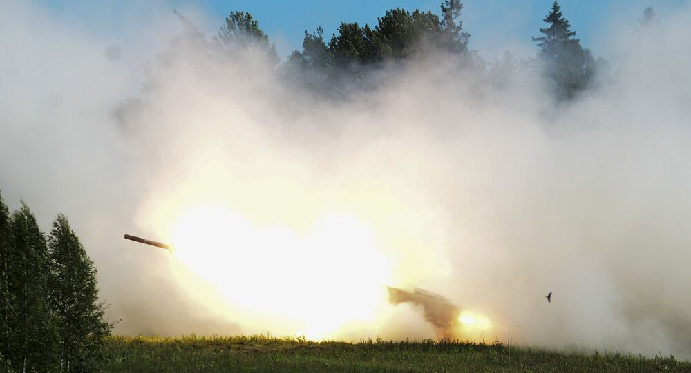Manobras da OTAN Saber Strike 2016 na Estônia