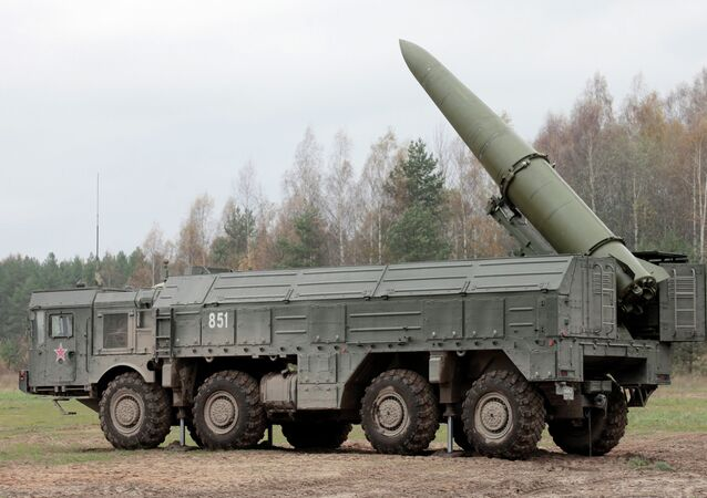 Sistema de mísseis Iskander.