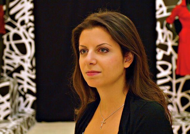 Margarita Simonyan, editora-chefe do RT e da Sputnik