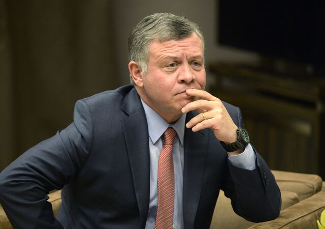 Rei da Jordânia Abdullah II