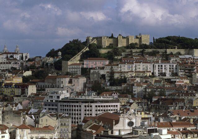 Vista de Lisboa, Portugal (foto de arquivo)