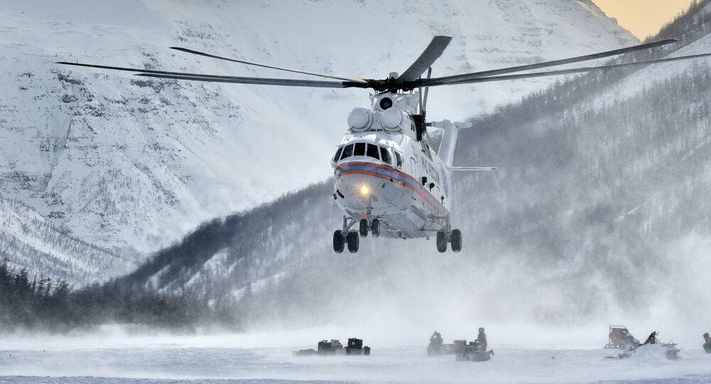 Helicóptero russo Mil Mi-26 (imagem referencial)