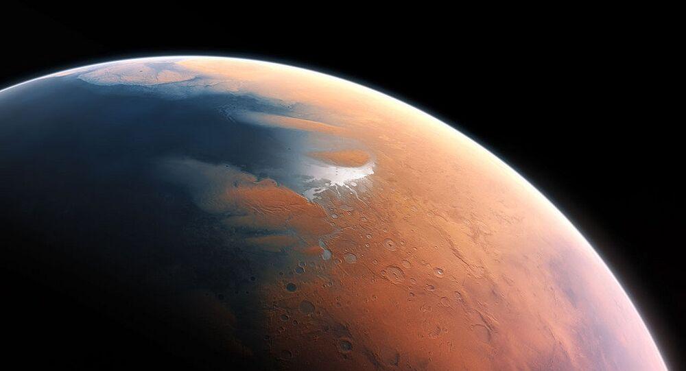 Artista retrata o visual de Marte que ele talvez tenha tido um bilhão de anos atrás