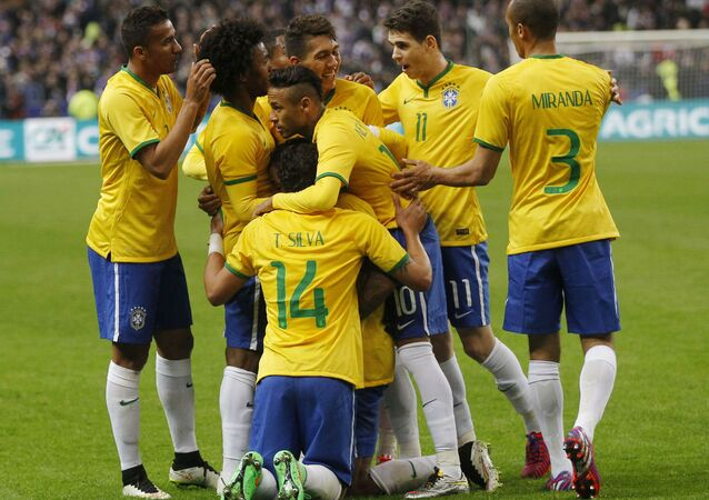 Seleção brasileira de futebol.
