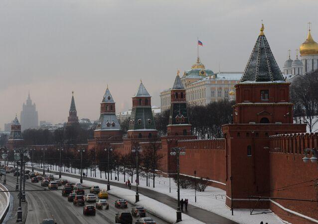 Vista do Kremlin de Moscou
