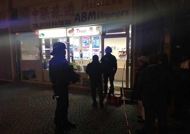 Incidente acabou sem mortos ou feridos, mas o assaltante conseguiu fugir da polícia