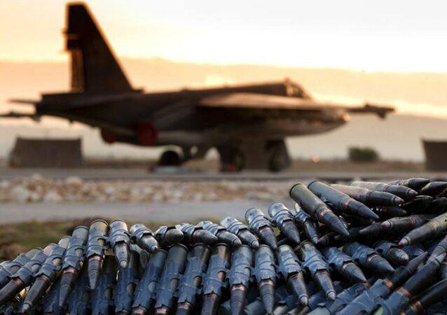 A vida cotidiana do grupo aéreo russo no aeródromo de Hmeimim na Síria