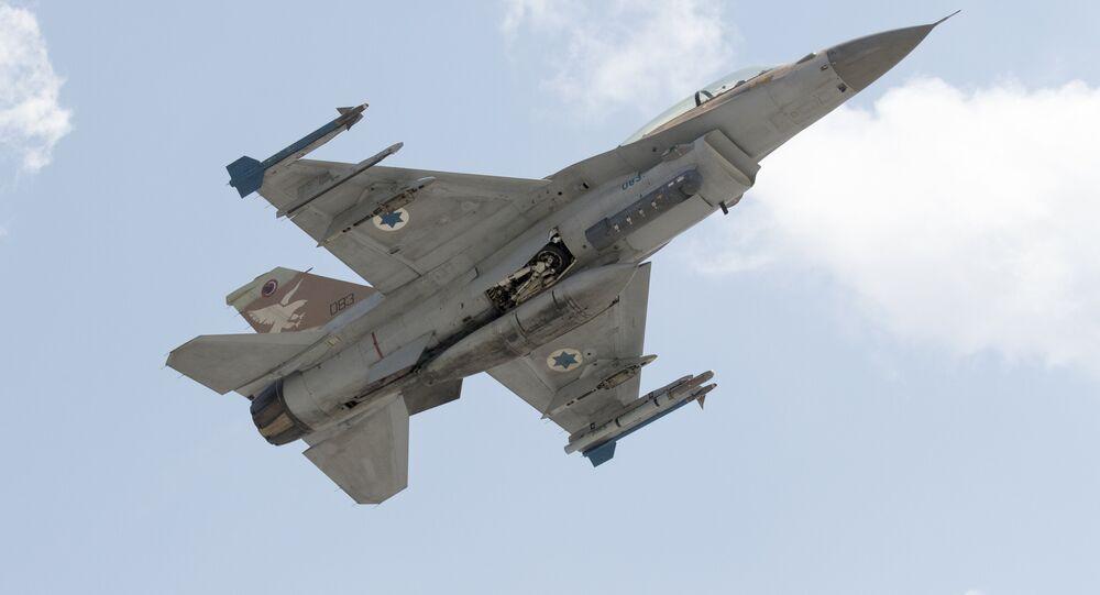Caça F-15 da Força Aérea de Israel (arquivo)