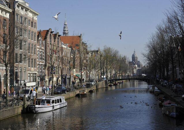 Países estrangeiros. Países Baixos. Amsterdã.