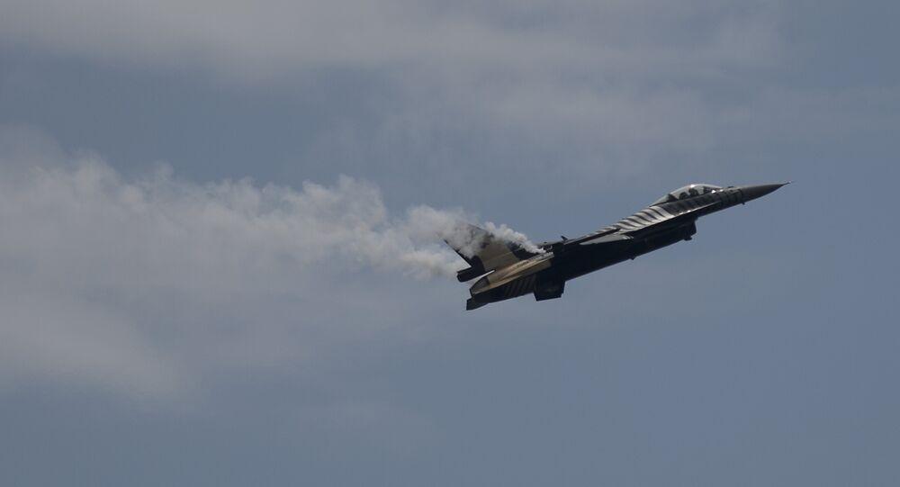 F-16 da Força Aérea da Turquia