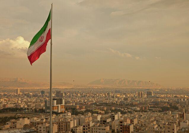 Vista de Teerã, capital iraniana
