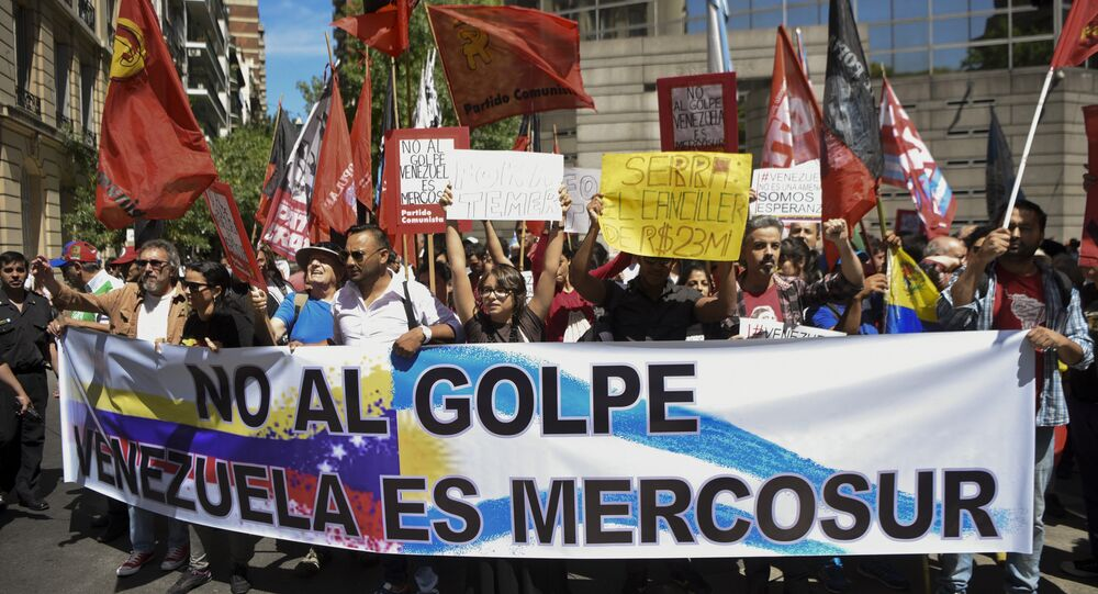 Venezuela Mercosul reunião